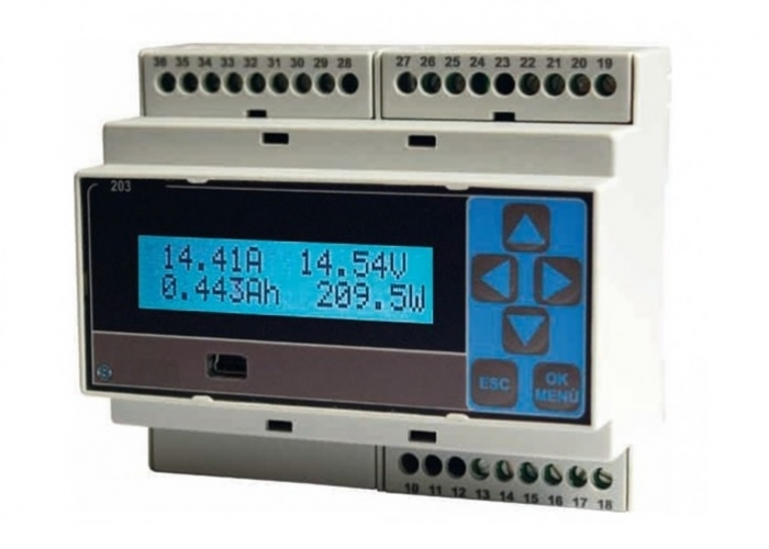 Triphase Power Grid Analyser