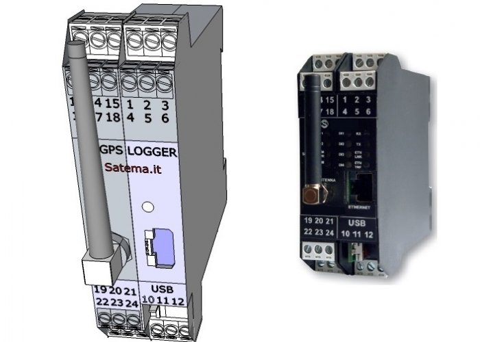 Stand Alone Double Channel Analog Data Logger