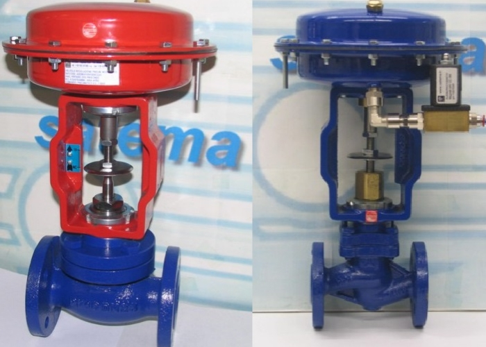 2-way Pneumatic Control Globe Valves