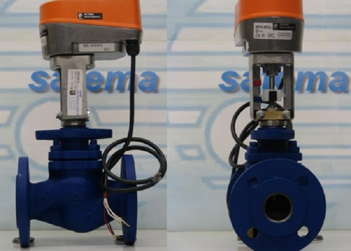 2-way Globe Valves  for modulating or On/Off electric actuator - 150°C