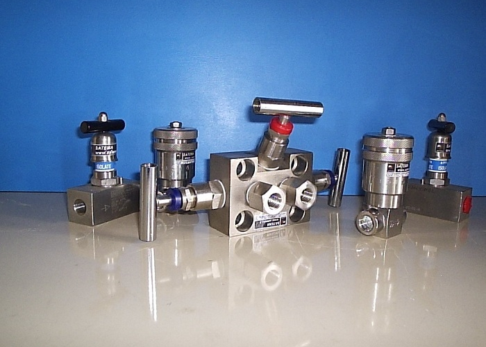 Needle Valves and Manifold for instruments