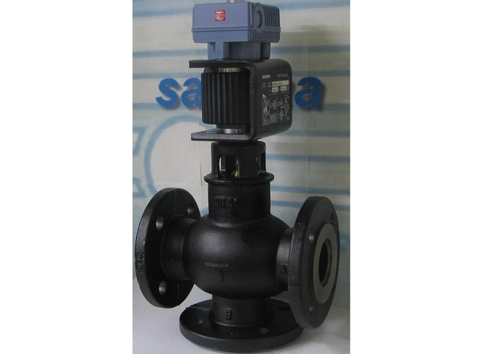 3-ways Operated Control Valves