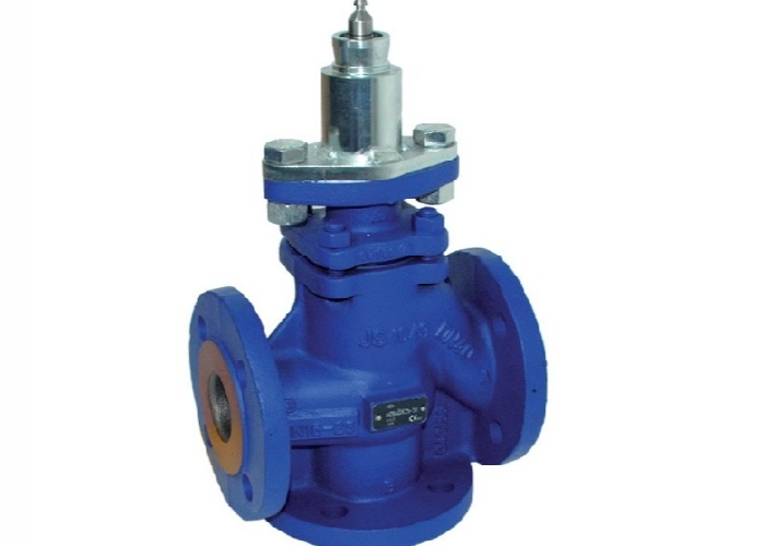 3-way Electrical Control Globe Valves  200°C