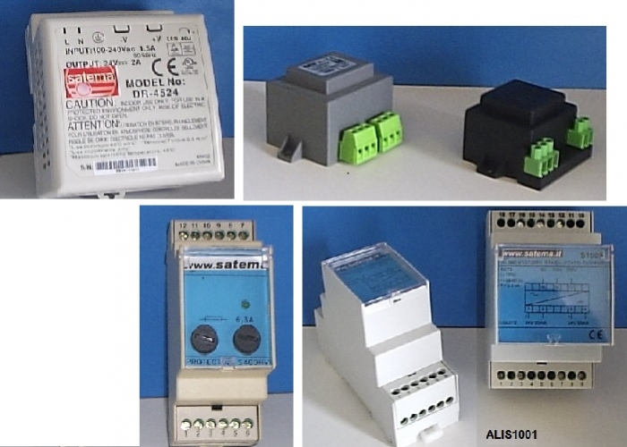 Power suppliers - Transformers - Surge protections