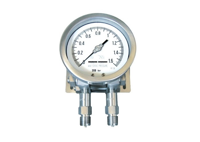Differential Pressure Gauge - S.S. membrane