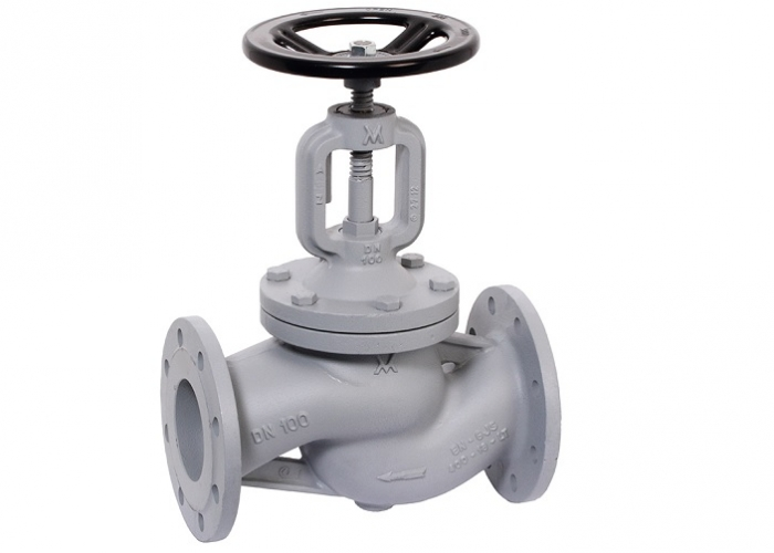 Streamlined flow valves traditional type
