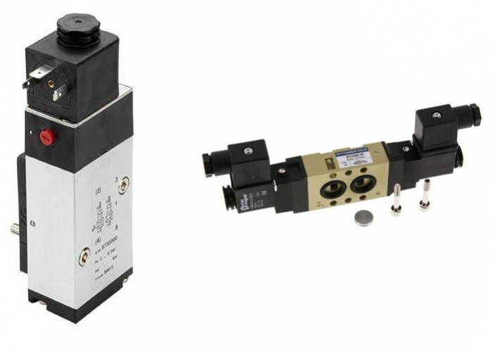 Indirect Solenoid Actuated Spool Valves - NAMUR interface